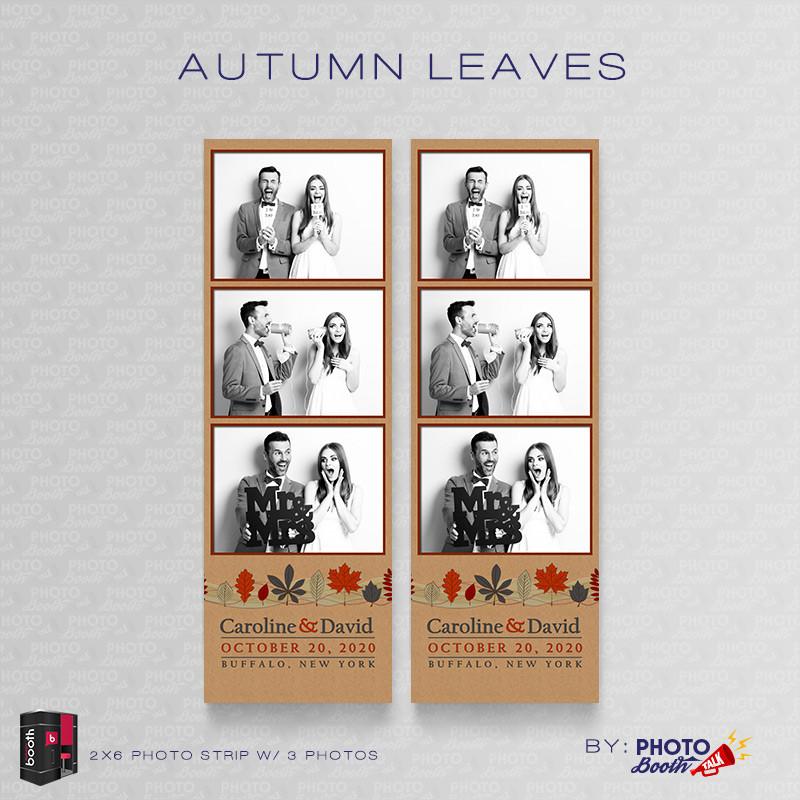 Autumn Leaves 2x6 3Images - CI Creative