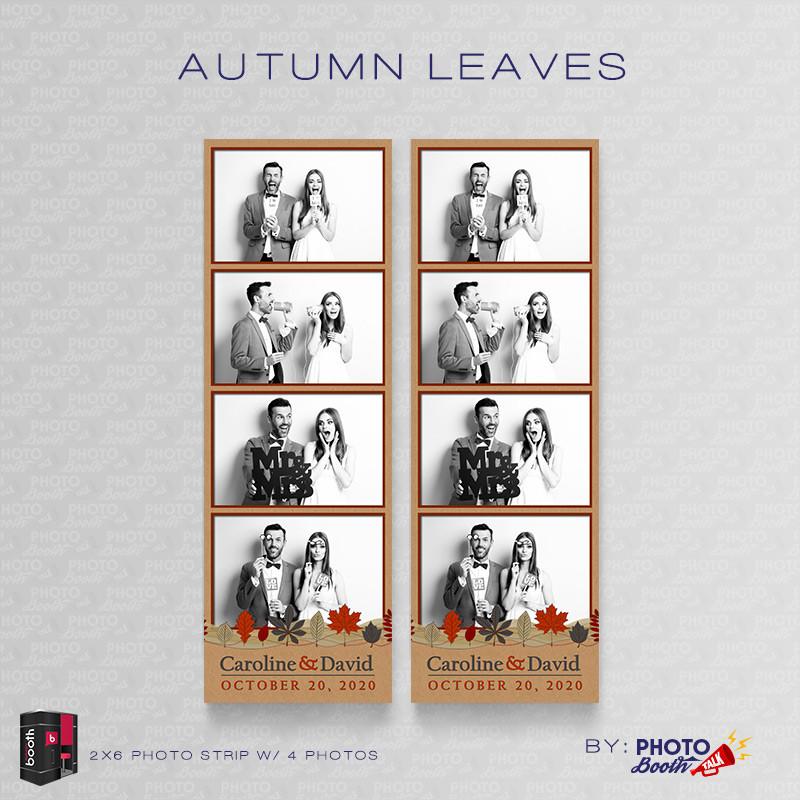 Autumn Leaves 2x6 4Images - CI Creative