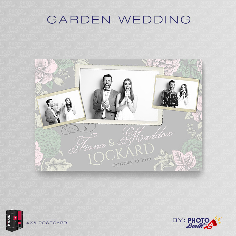Garden Wedding 4x6 - CI Creative