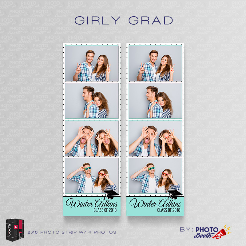 Girly Grad 2x6 4Images - CI Creative