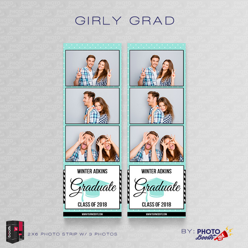 Girly Grad 2x6 3Images - CI Creative