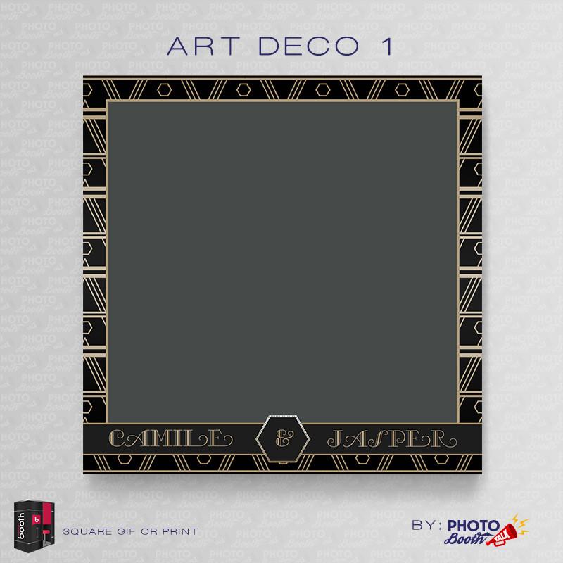 Art Deco 1 5x5 - CI Creative