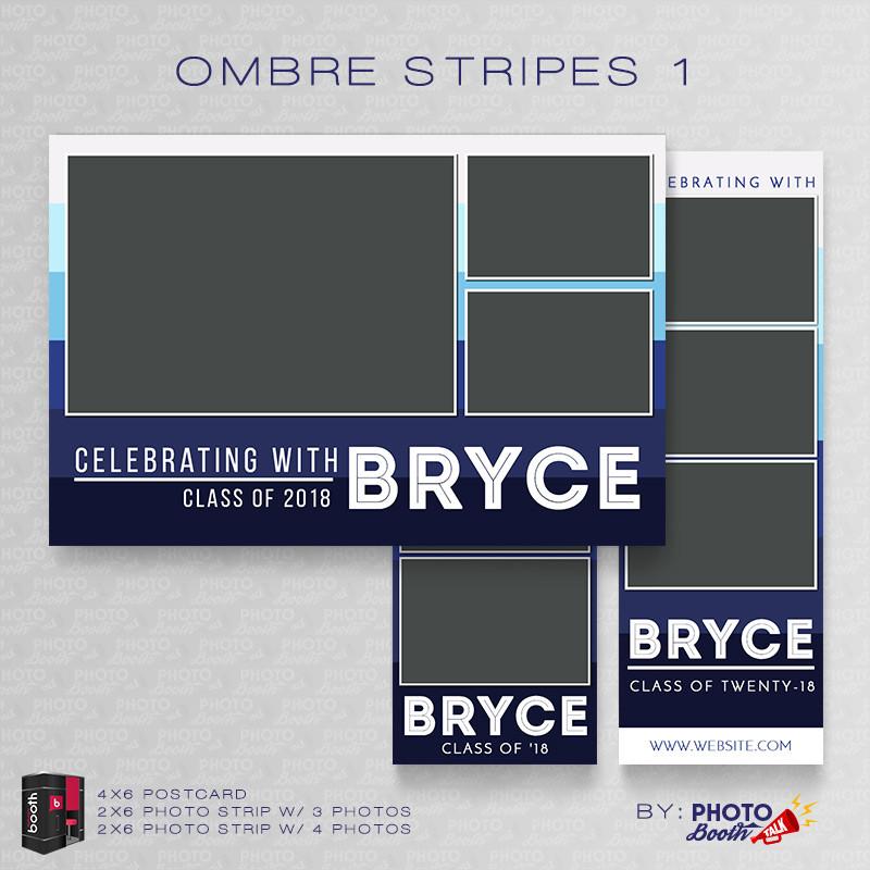 Ombre Stripes 1 Bundle - CI Creative