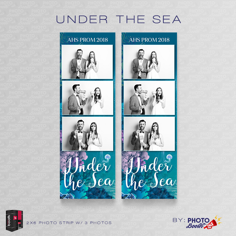 Under the Sea 2x6 3 Images - CI Creative