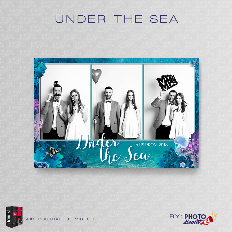 Under the Sea 4x6 Portrait Mirror - CI Creative