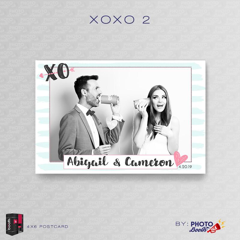 XOXO 2 4x6 Single Photo - CI Creative