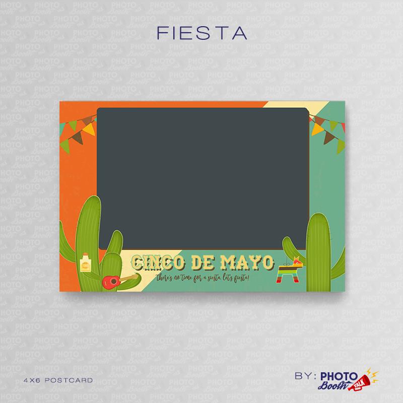 Fiesta 2 4x6 Single Photo - CI Creative