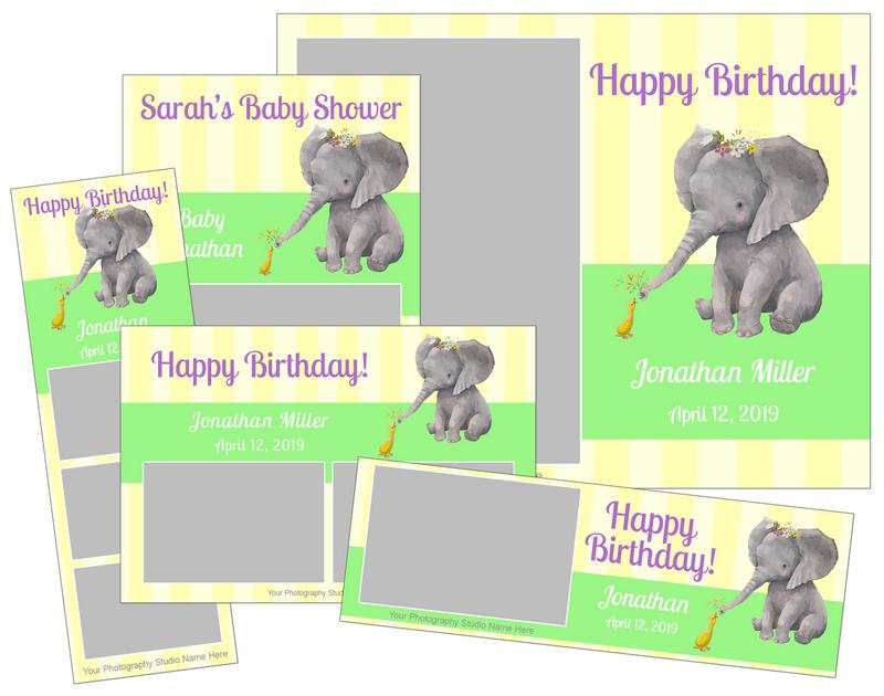 Baby Shower and Birthday Bundle - V2