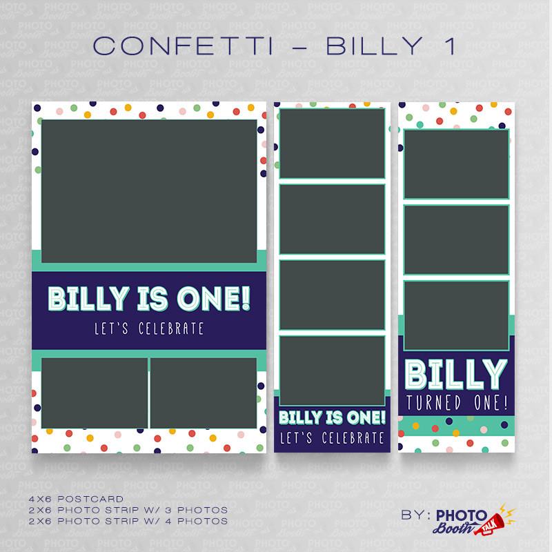 Confetti Billy 1 Bundle - CI Creative