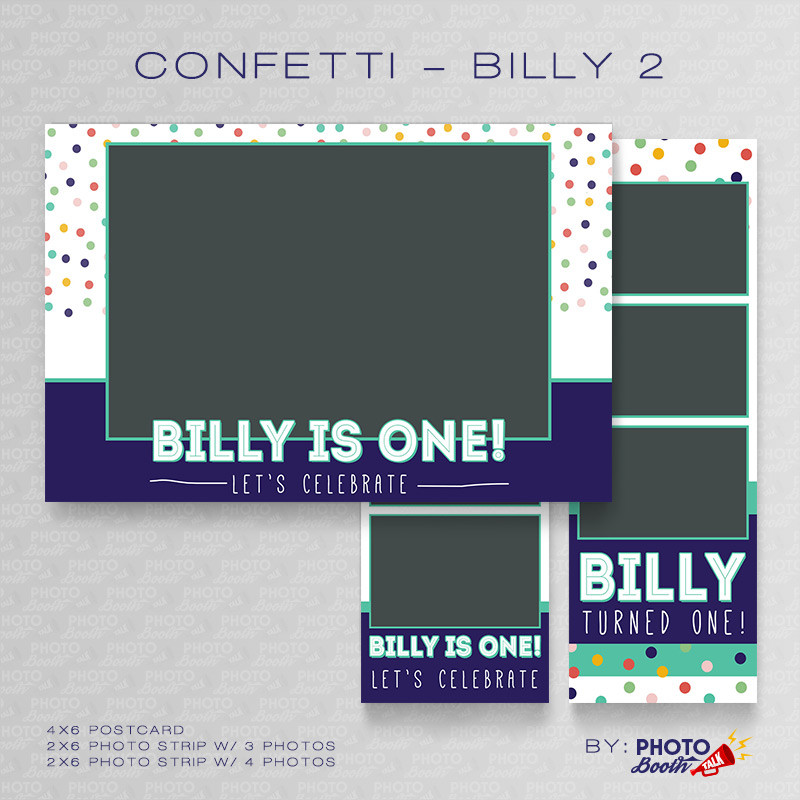 Confetti Billy 2 Bundle - CI Creative