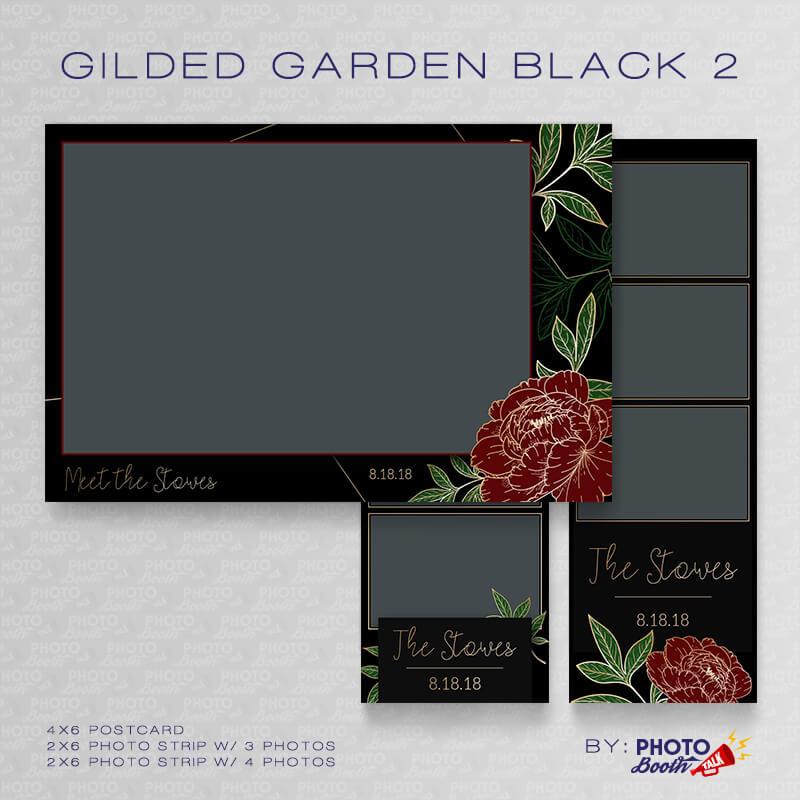 Gilded Garden Black 2 Bundle - CI Creative