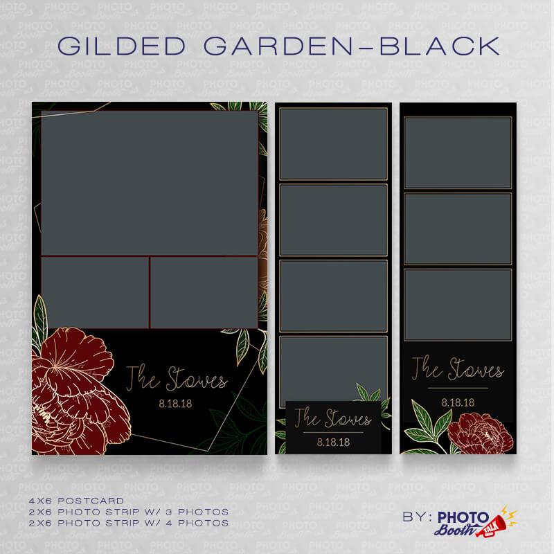 Gilded Garden Black 1 Bundle - CI Creative