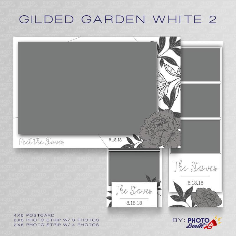Gilded Garden White 2 Bundle - CI Creative