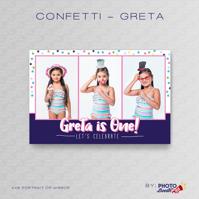 Confetti Greta Portrait Mirror - CI Creative