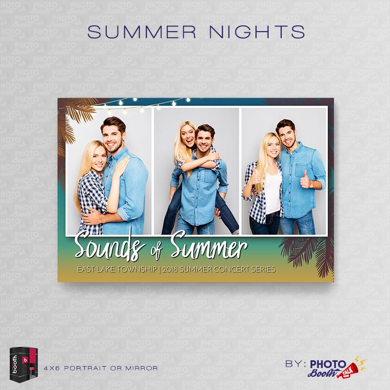 Summer Nights Portrait Mirror - CI Creative
