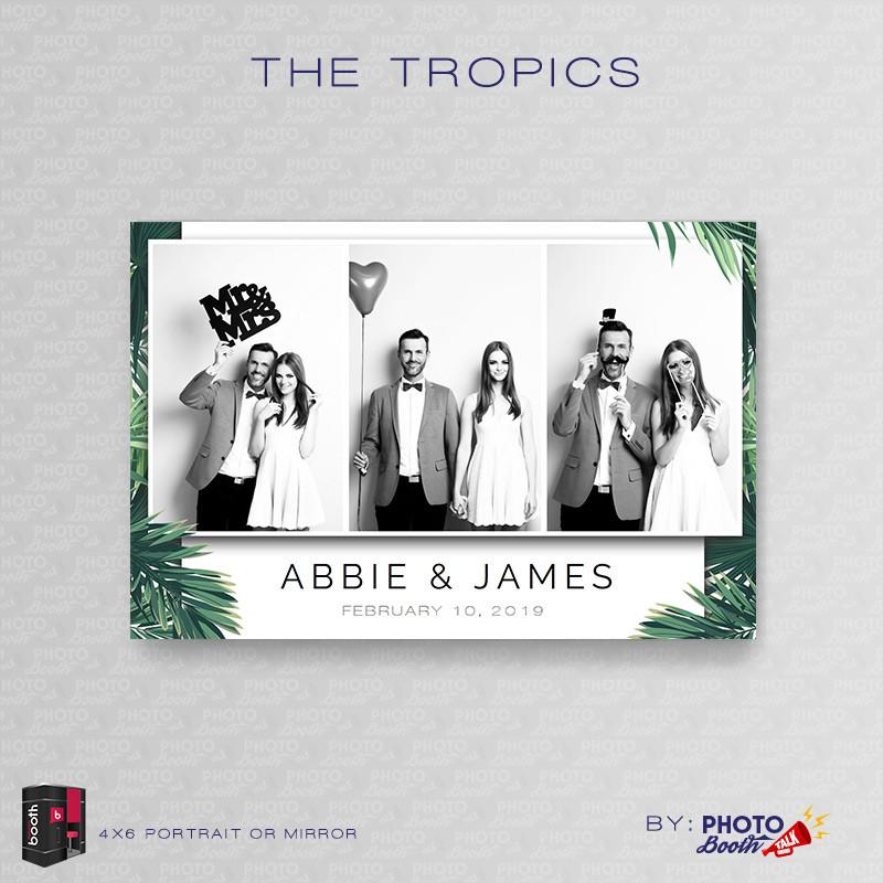 The Tropics Portrait Mirror - CI Creative