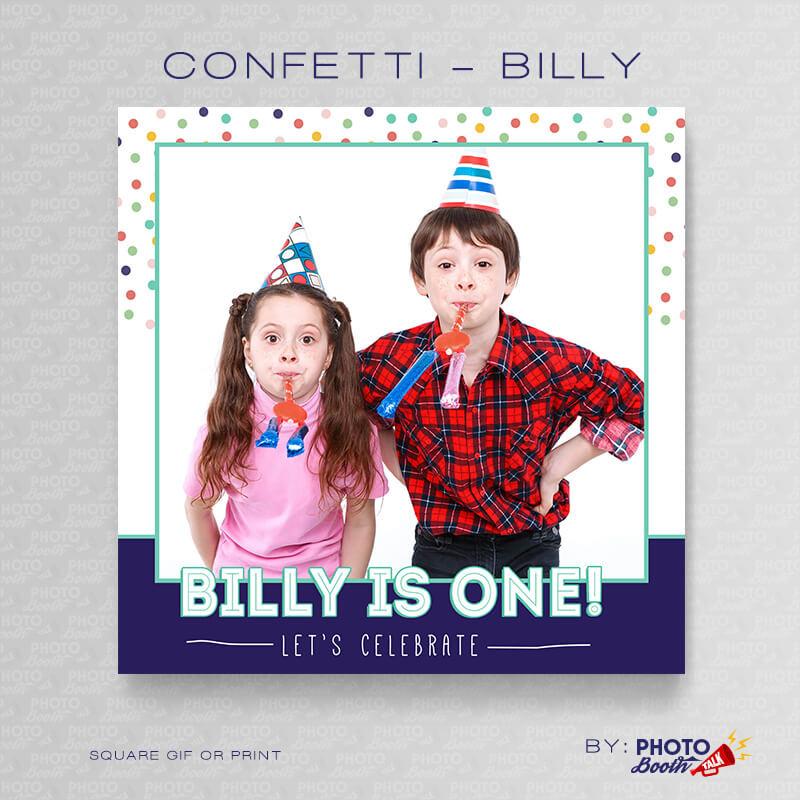 Confetti Billy Square - CI Creative