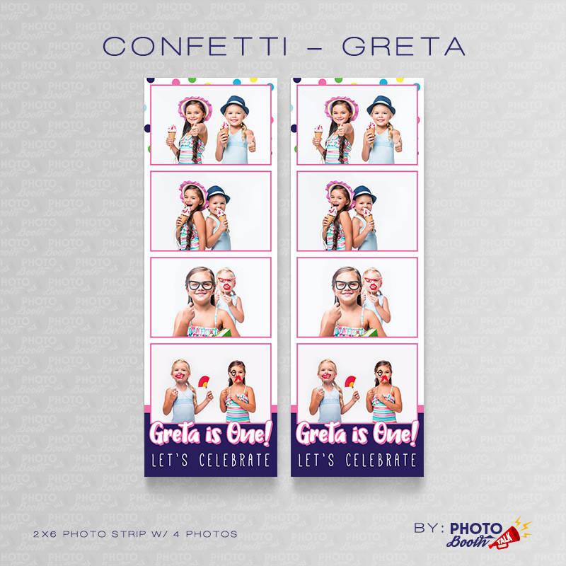 Confetti Greta 2x6 4 Images - CI Creative