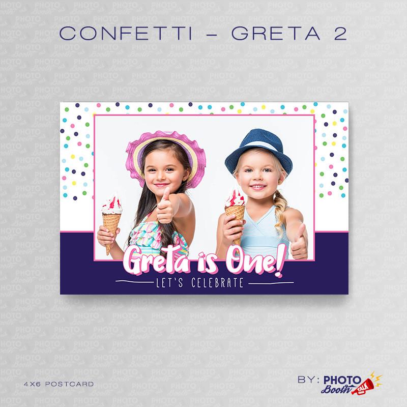 Confetti Greta 2 4x6 - CI Creative