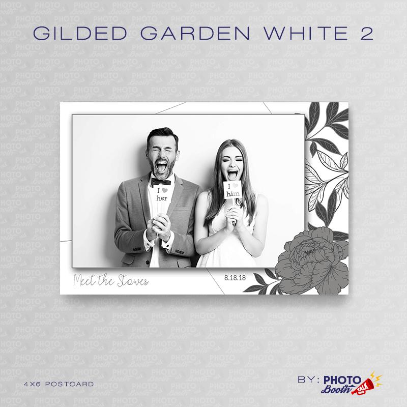Gilded Garden White 2 4x6 - CI Creative