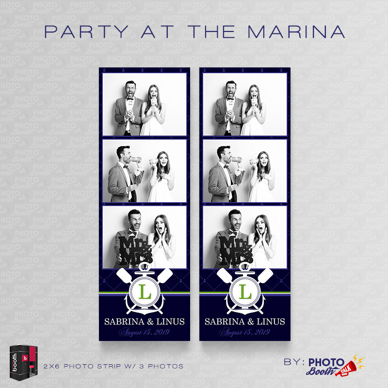Party at the Marina 2x6 3 Images - CI Creative