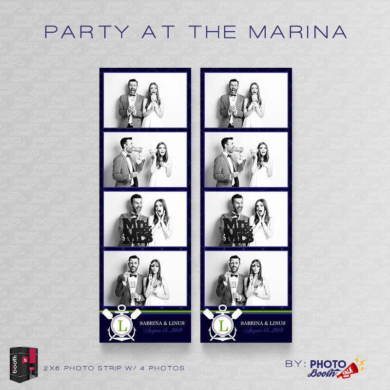Party at the Marina 2x6 4 Images - CI Creative