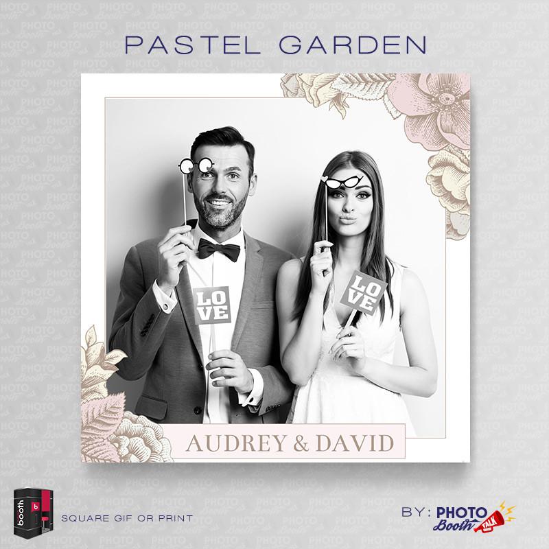 Pastel Garden Square  - CI Creative