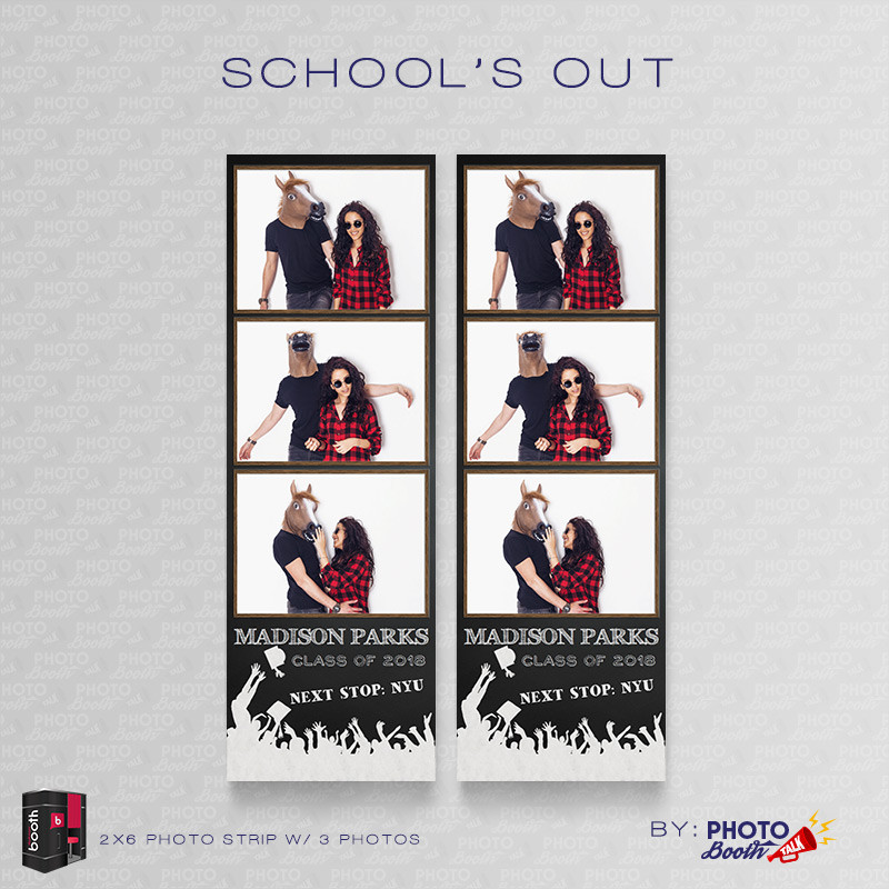 Schools Out 2x6 3 Images - CI Creative