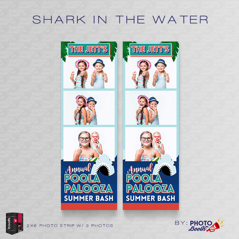 Shark in the Water 2x6 3 Images - CI Creative