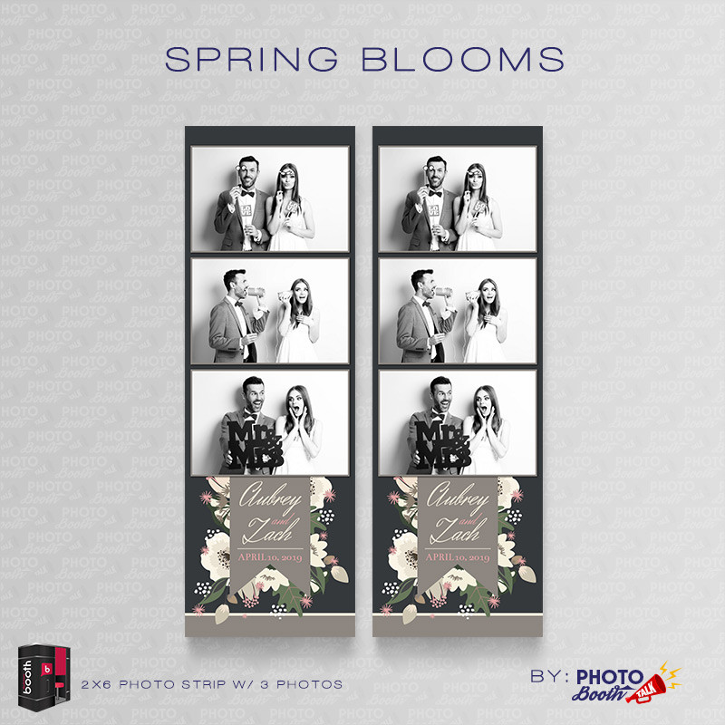 Spring Blooms 2x6 3 Images - CI Creative
