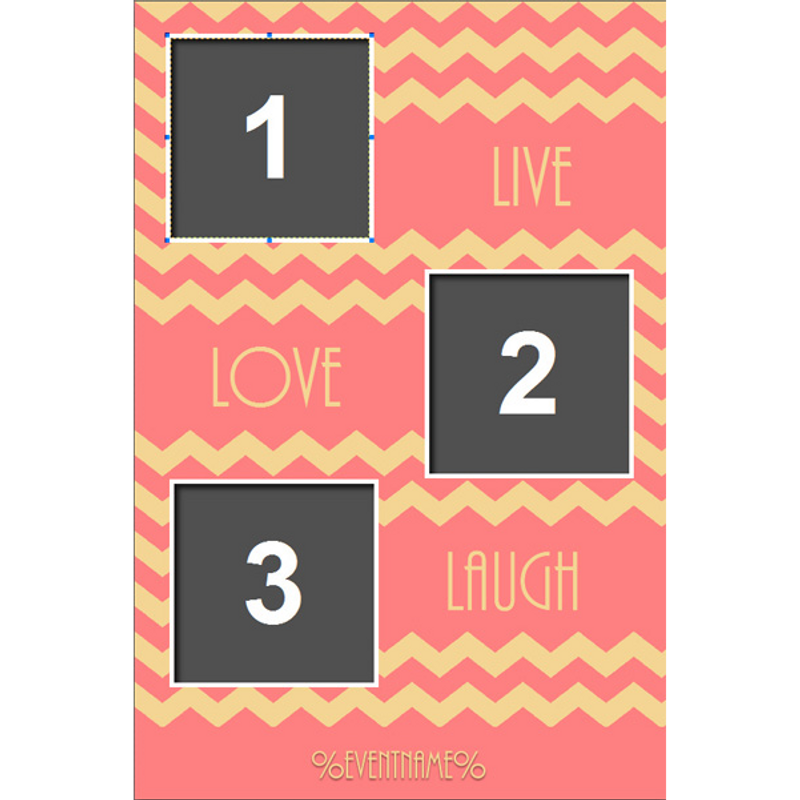 #BestDayEver 4x6 Print Template - 3 Images