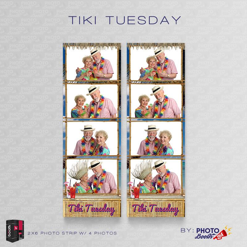 Tiki Tuesday 2x6 4 Images - CI Creative