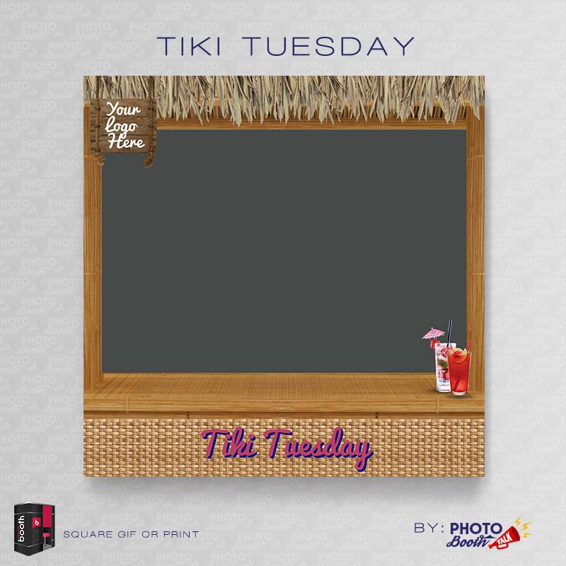 Tiki Tuesday Square - CI Creative