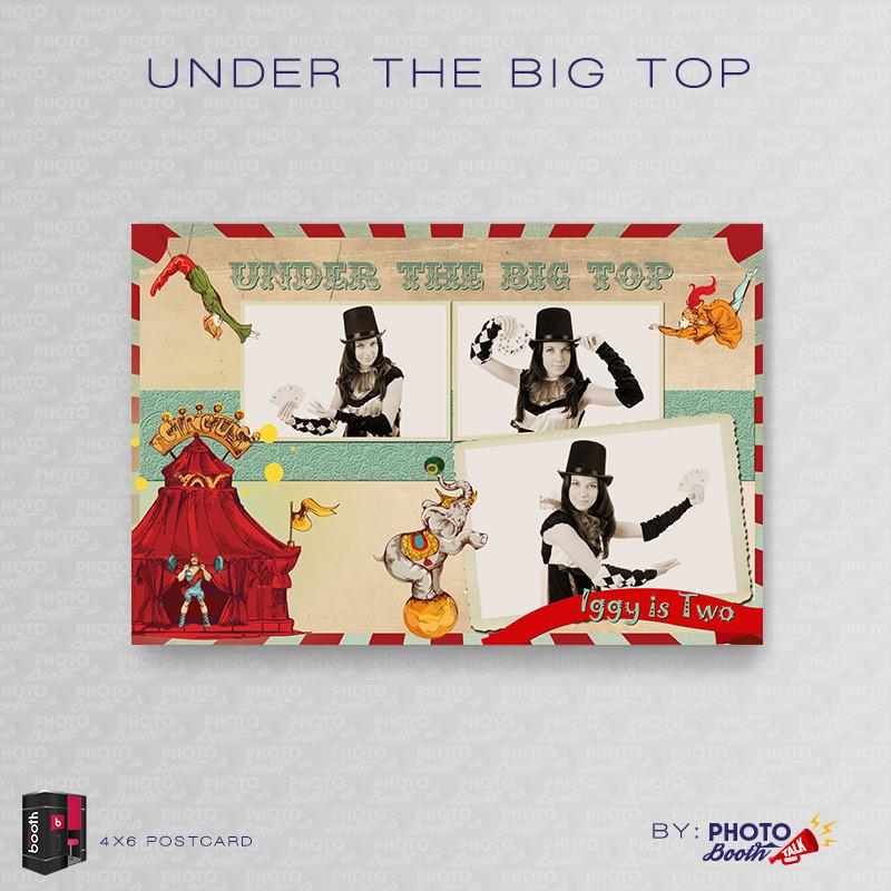 Under the Big Top 4x6 - CI Creative