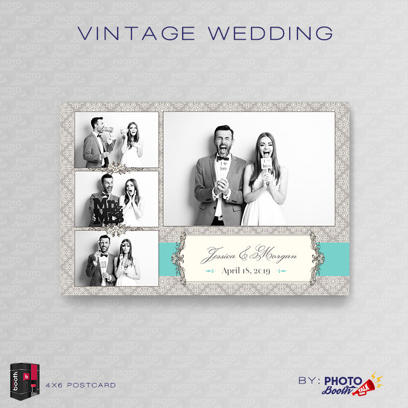 Vintage Wedding 4x6 - CI Creative