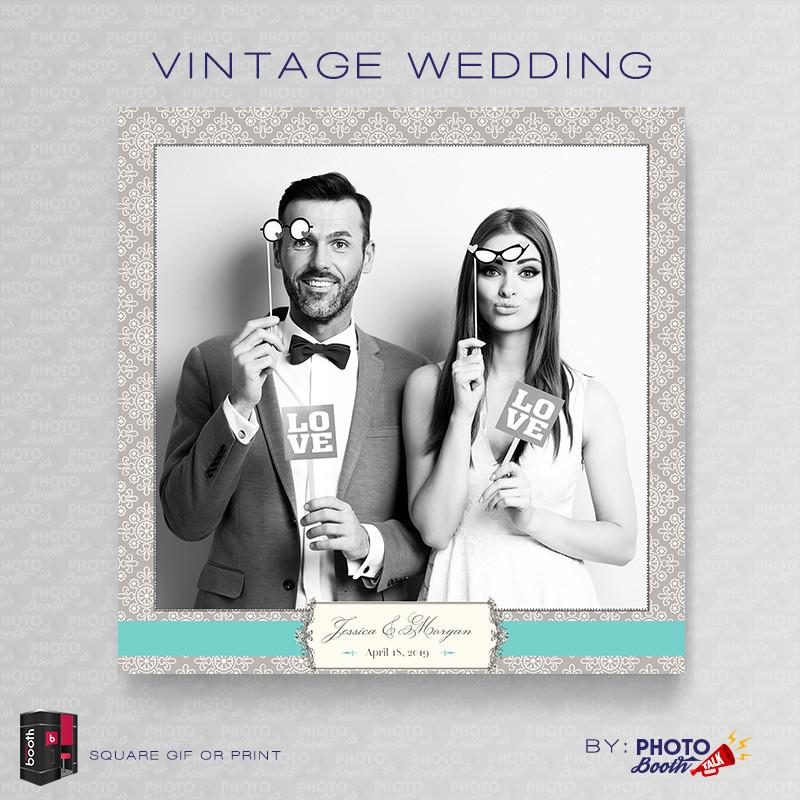 Vintage Wedding Square - CI Creative