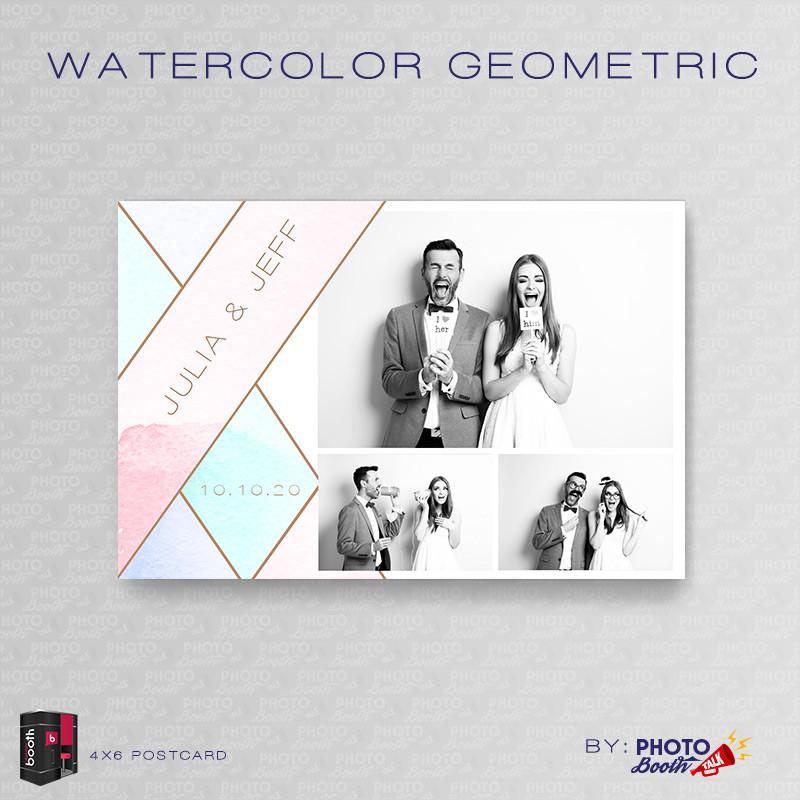 Watercolor Geometric 4x6 - CI Creative