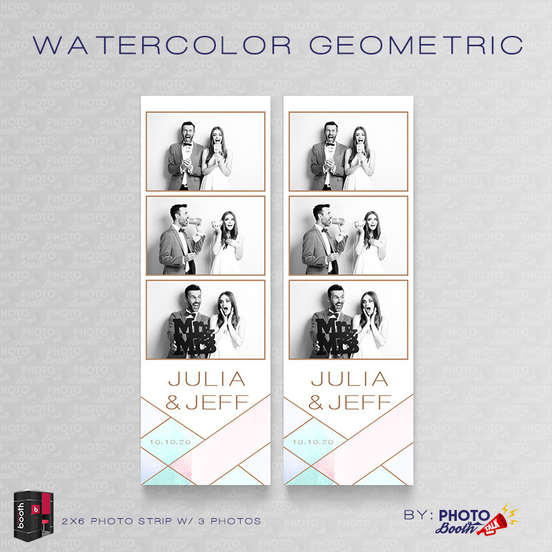 Watercolor Geometric 2x6 3 Images - CI Creative