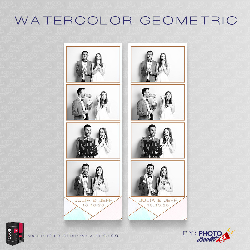 Watercolor Geometric 2x6 4 Images - CI Creative