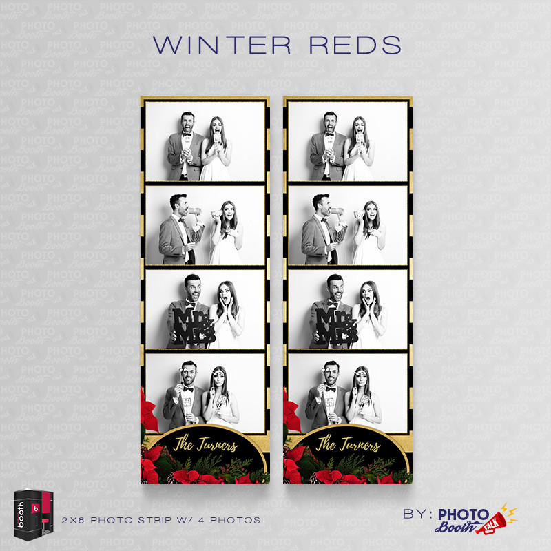 Winter Reds 2x6 4 Images - CI Creative