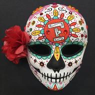 DIY Painted Sugar Skull Mask