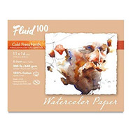 #What's New: Fluid 100% Cotton Watercolor Paper