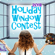 Downtown Alameda Holiday Window Contest 2018