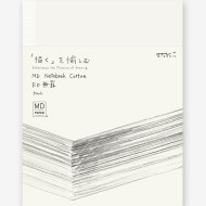 What's New: Midori MD Cotton Notebook