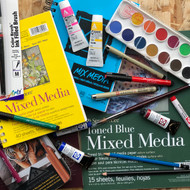 #ASK FLAX - What is the difference between Mixed Media & Watercolor Paper?