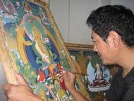 Live Art with Tashi Dhargyal