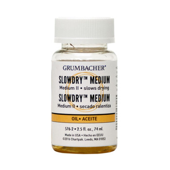Grumbacher Slowdry Medium