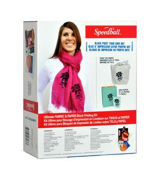 Speedball Fabric & Paper Block Printing Kit