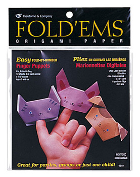 Fold'Ems Finger Puppet Origami Pack