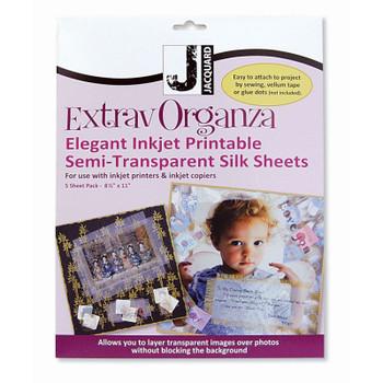 ExtravOrganza Inkjet Fabric